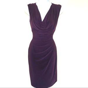 Cute purple Lauren by Ralph Lauren stretchy dress